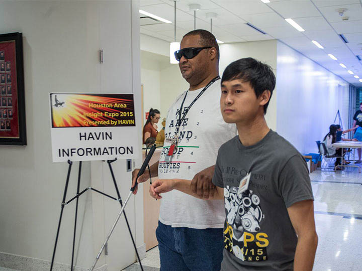 Fifth Annual Eye Expo at UH Offers Resources to the Visually Impaired