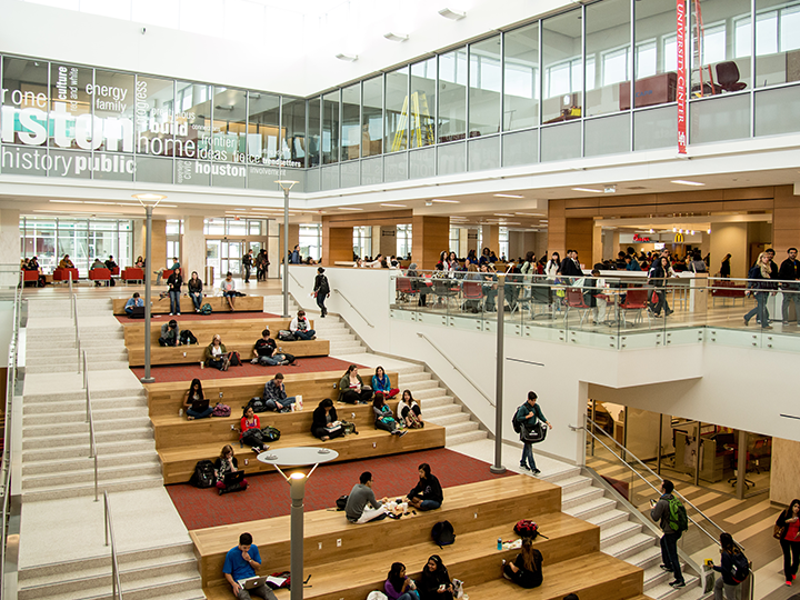 UH Among Best Colleges for Undergraduate Education