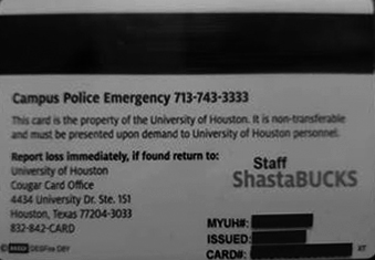 Cougar Card Frequently Asked Questions University Of Houston