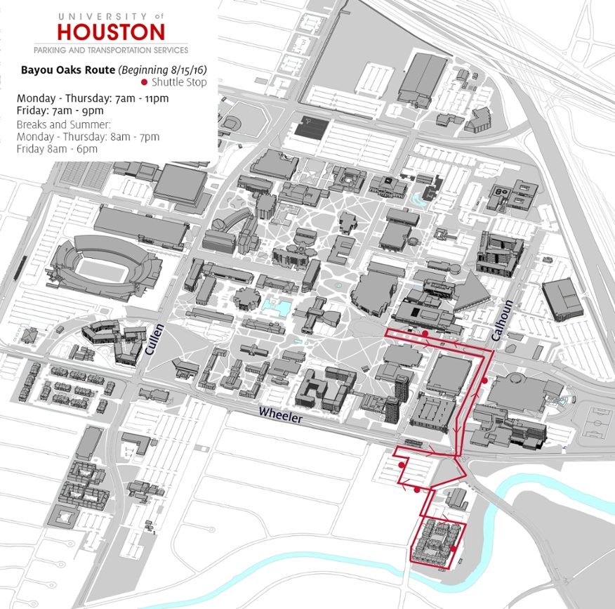Uh Clear Lake Campus Map.Uh Houston Campus Map Www Sham Store