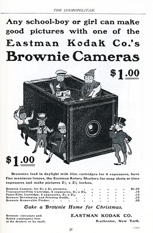 No 2202 Brownie Cameras