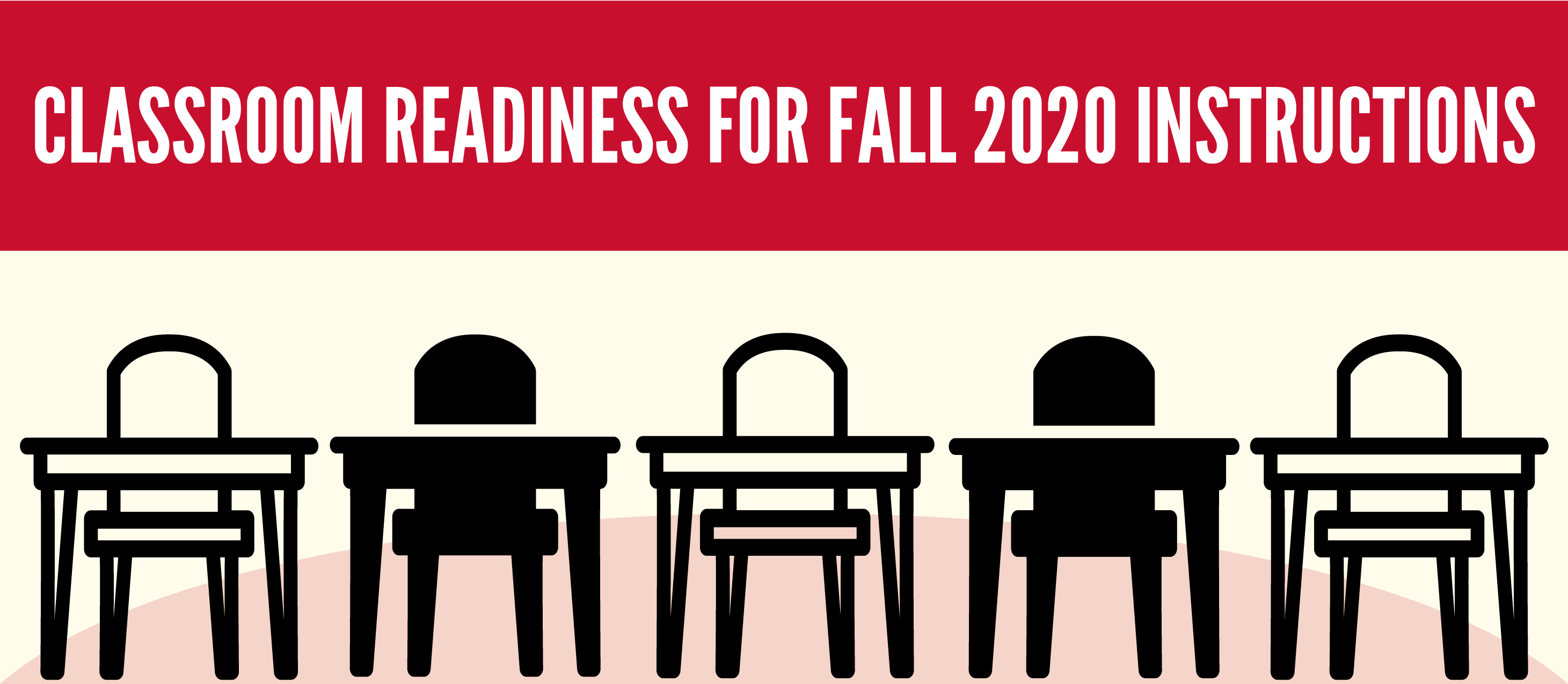 Classrooms Readiness For Fall 2020 Instructions