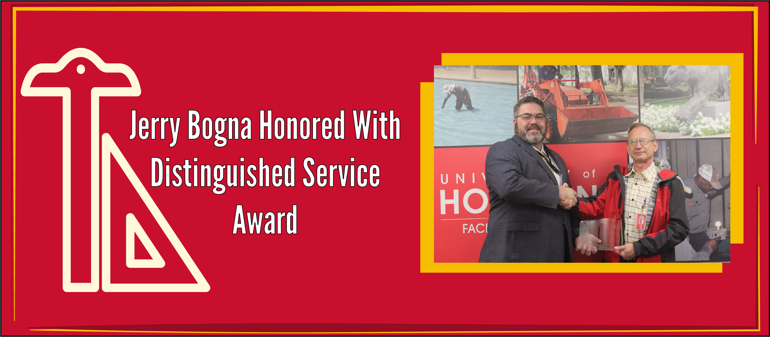 Jerry Bogna Honored with Distinguished Service Award