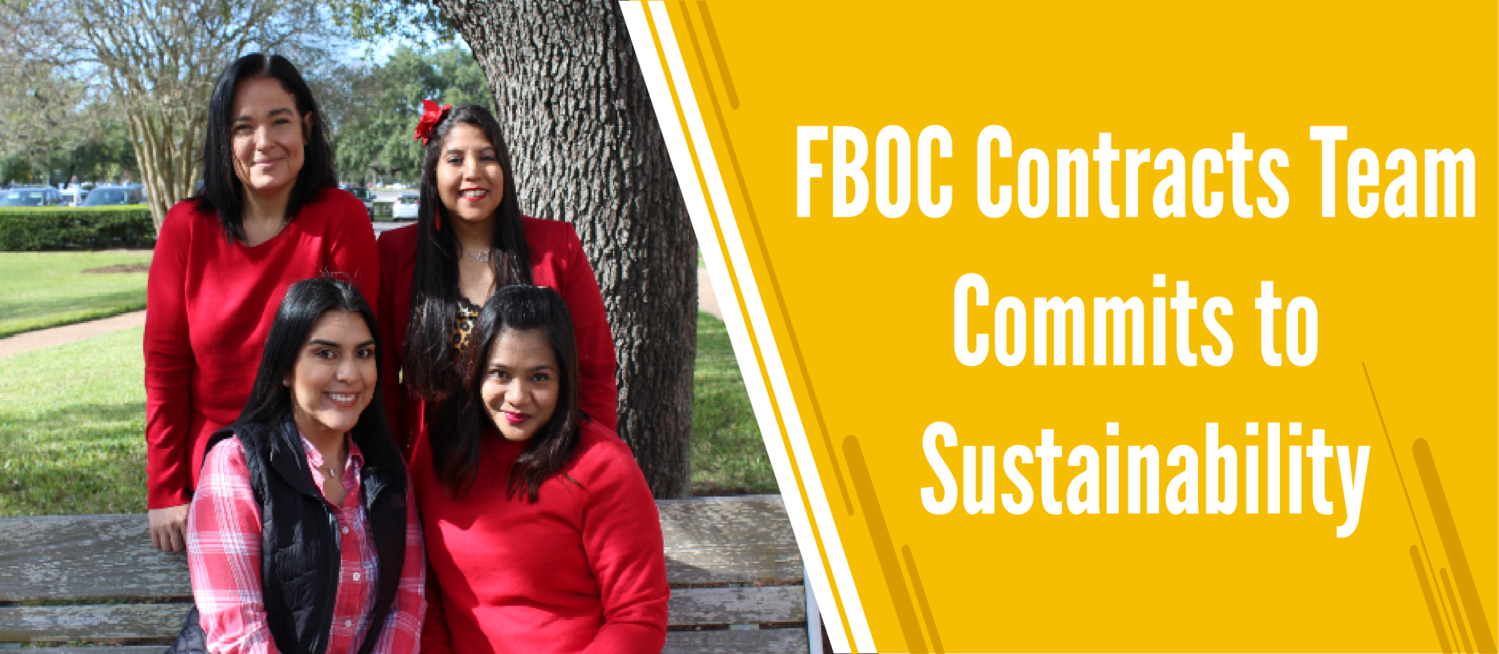 FBOC Contracts Team Commits to Sustainability