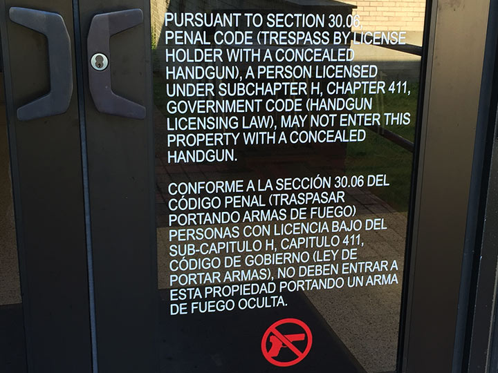 UH Complies with State Law, Implements Campus Carry Policy