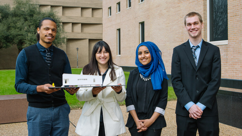 UH Students Design Energy Efficient, Affordable Homes