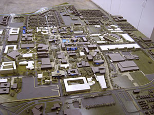 Model of the campus