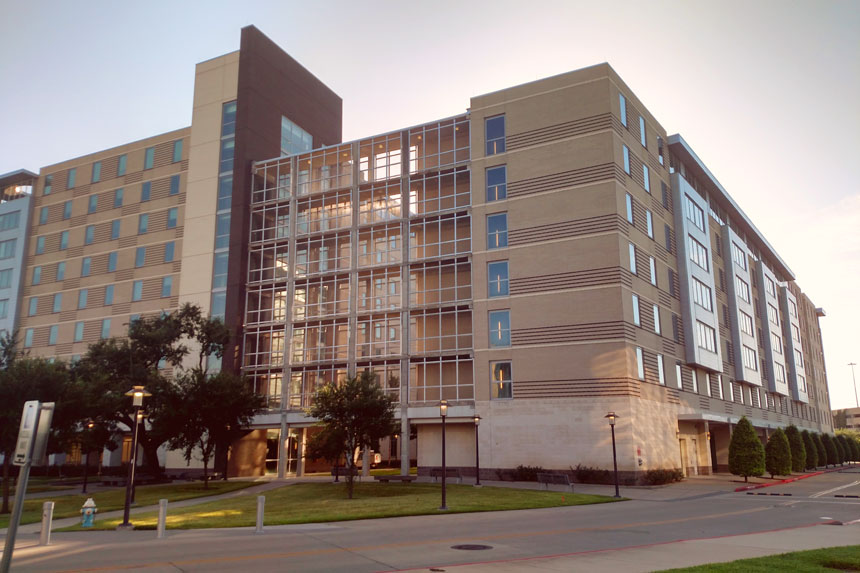 photo of the University Lofts Apartments