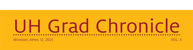 UH Grad Chronicles header