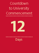 Countdown to University Commencement - 12 days