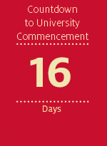 Countdown to University Commencement - 16 days
