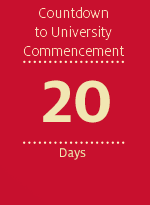 Countdown to University Commencement - 20 days