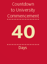 Countdown to University Commencement - 40 days
