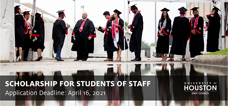 University of Houston Staff Council - Scholarships for students of staff