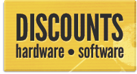 discounts on software and hardware