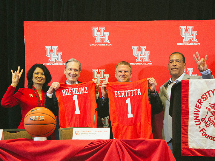 Tilman Fertitta Pledges $20 Million to UH Basketball Arena Renovation