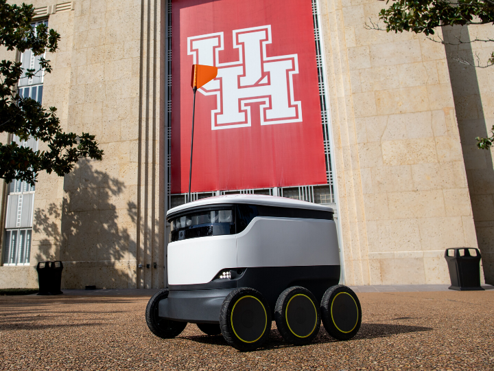 Starship Autonomous Food Delivery Robots Deployed at University of Houston
