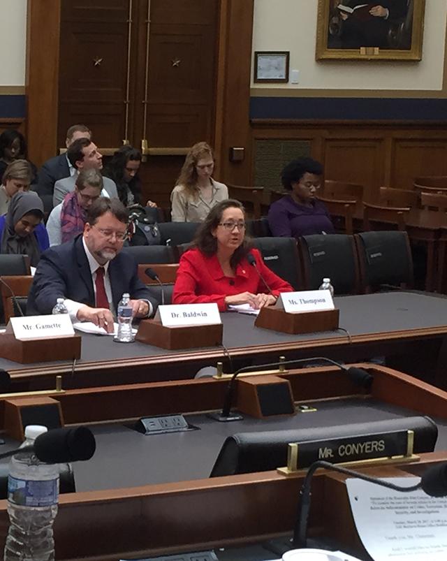 Professor Guerra Thompson speaks on crime lab reform.