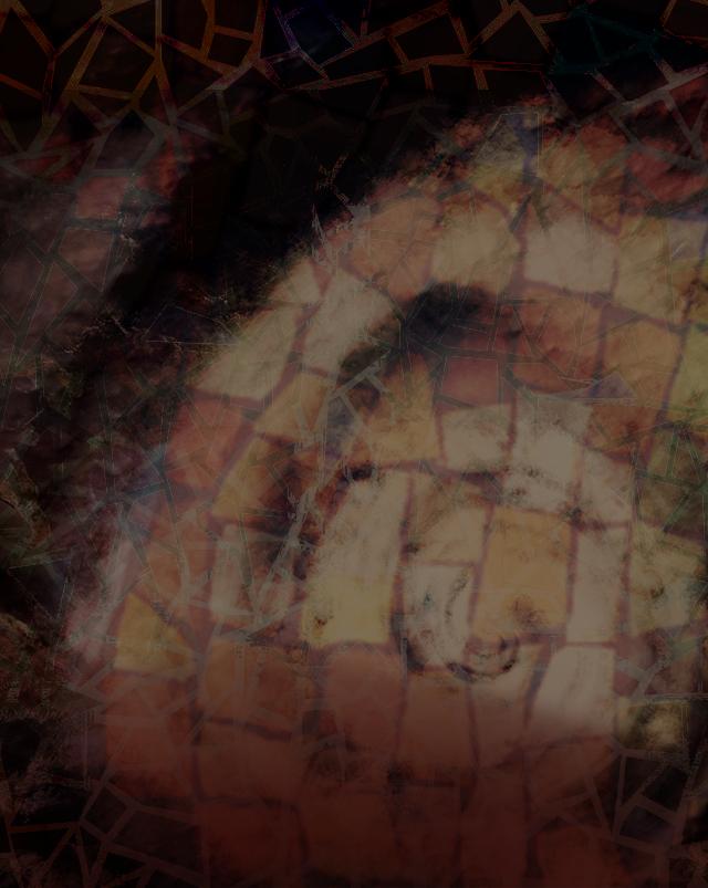 Natural disaster mosaic.