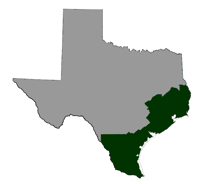 Map Of South East Texas.Texas Regional Maps University Of Houston