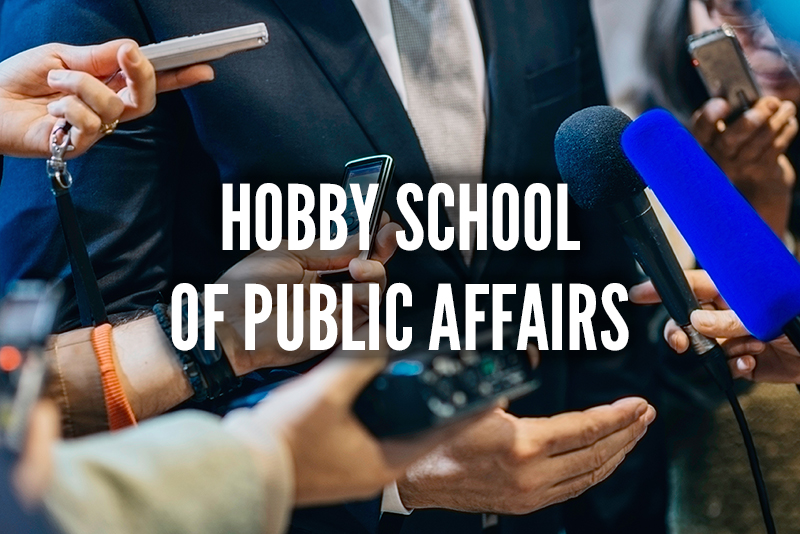 Hobby School of Public Affairs Image