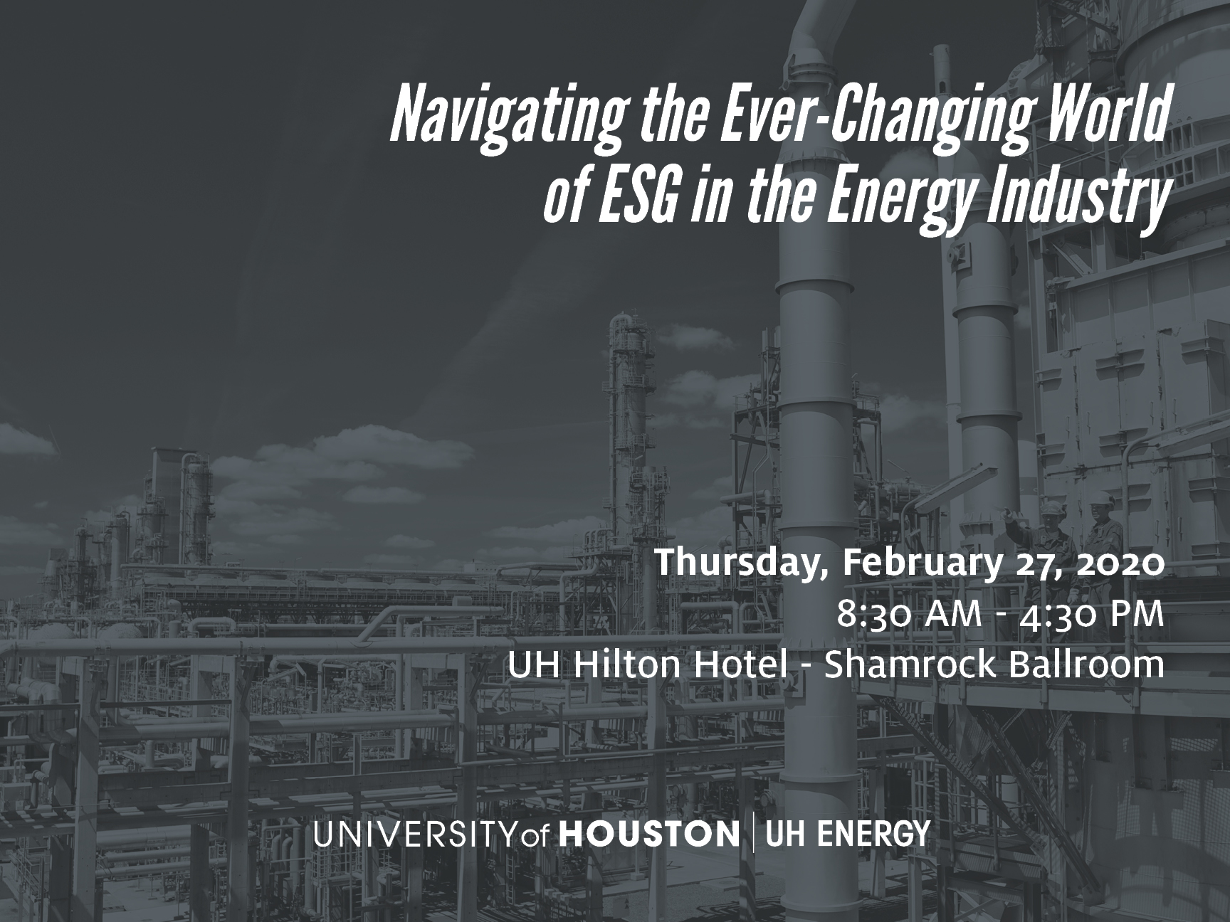 ESG in the Energy Industry Banner Image
