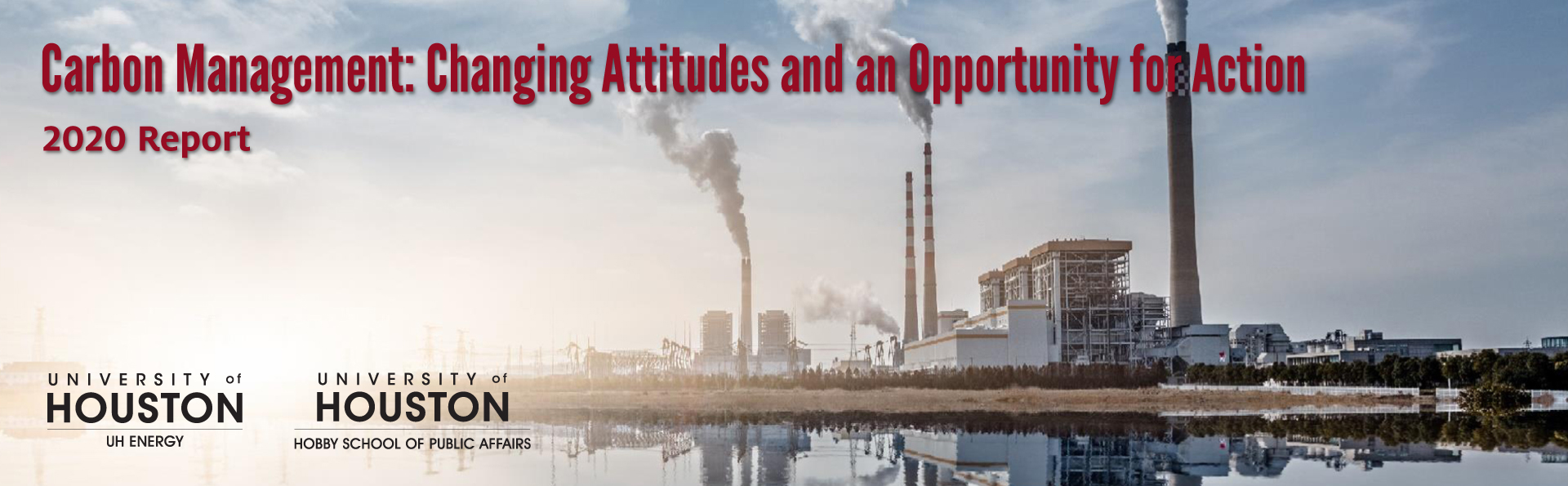 Carbon Management: Changing Attitudes and an Opportunity for Action Banner