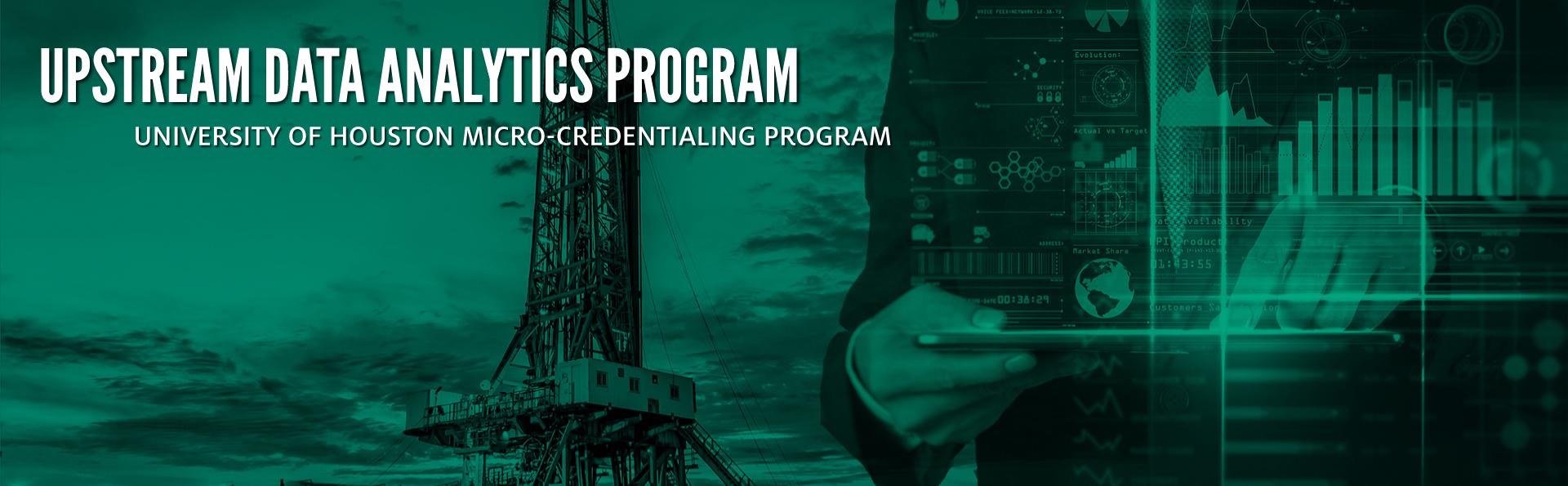 Upstream Energy Data Analytics Program Banner