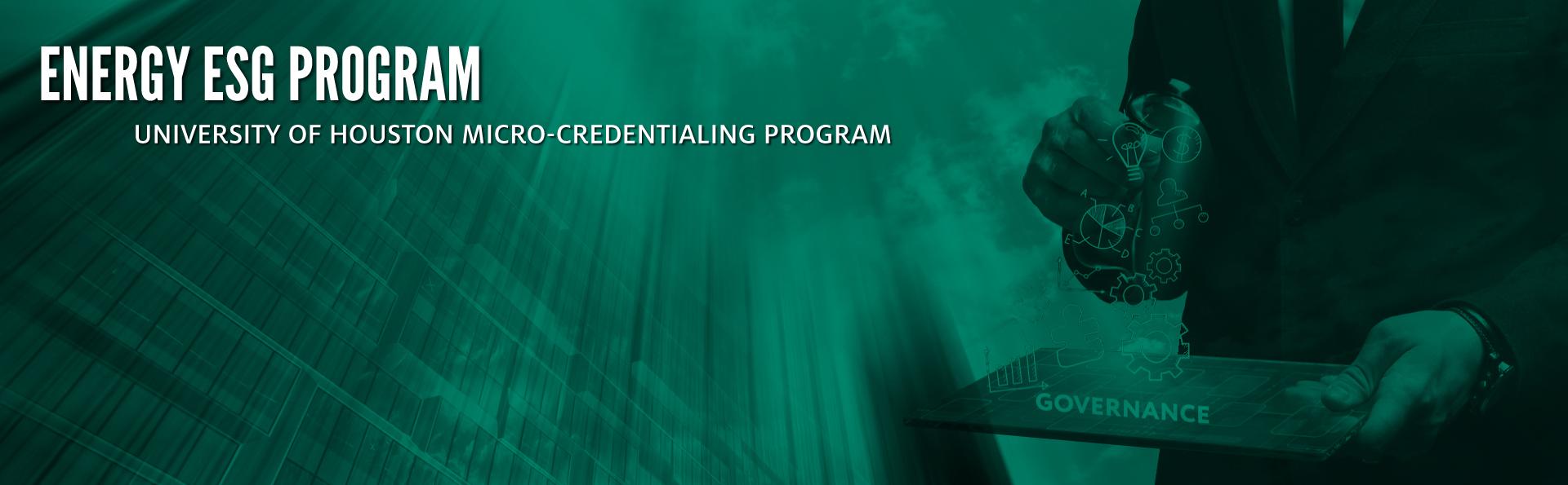 ESG In Energy Program Banner