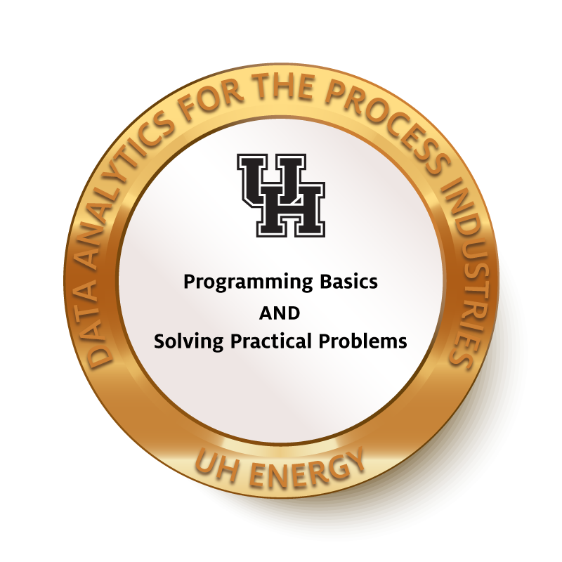 Programming Basics and Solving Practical Problems Badge Image