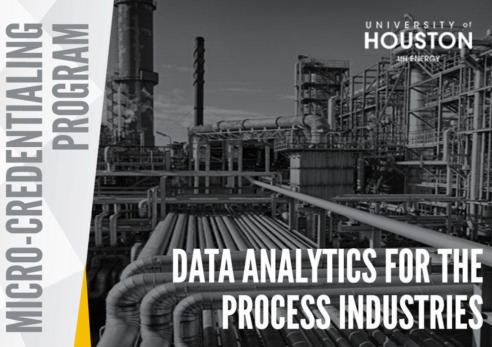 The Data Analytics for the Process Industries Program banner image