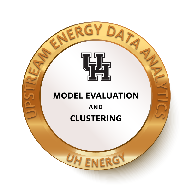 Model Evaluation and Clustering Badge 2 Image