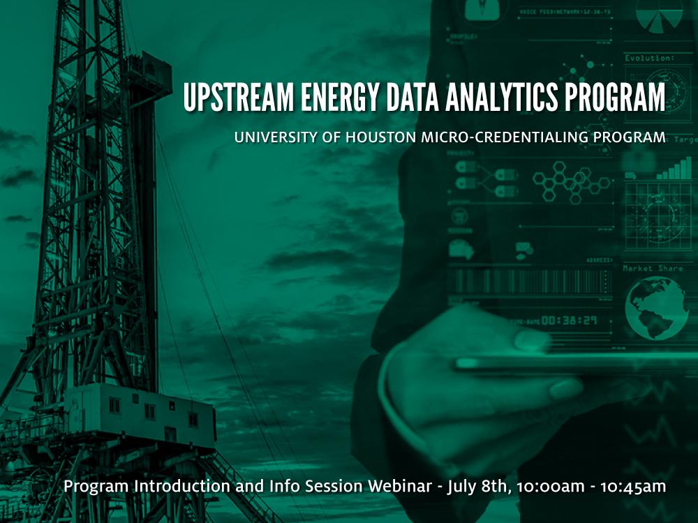 Upstream Energy Data Analytics Program Image
