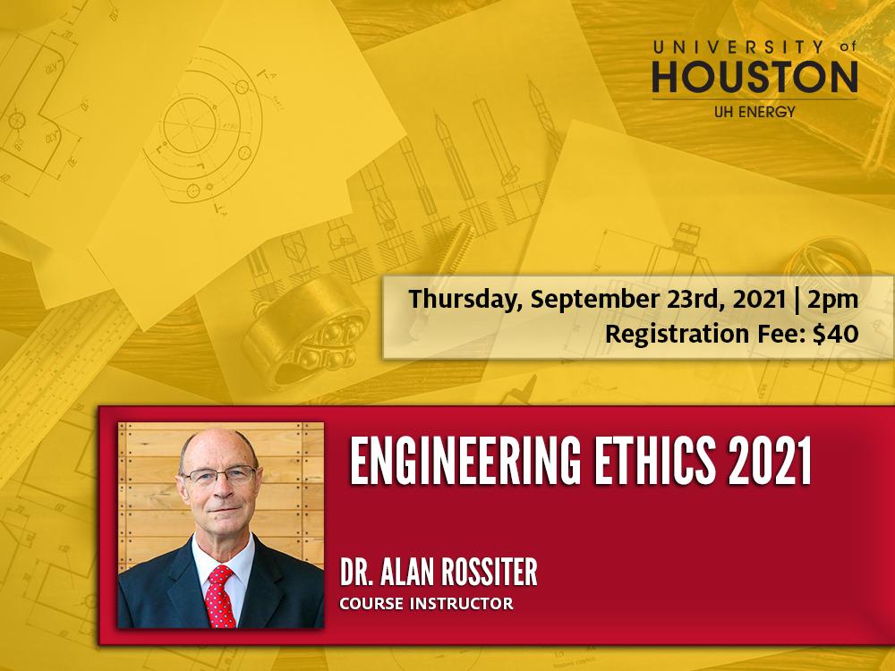 2021 Engineering Ethics Webinar: Engineering Ethics: Law and Life Image