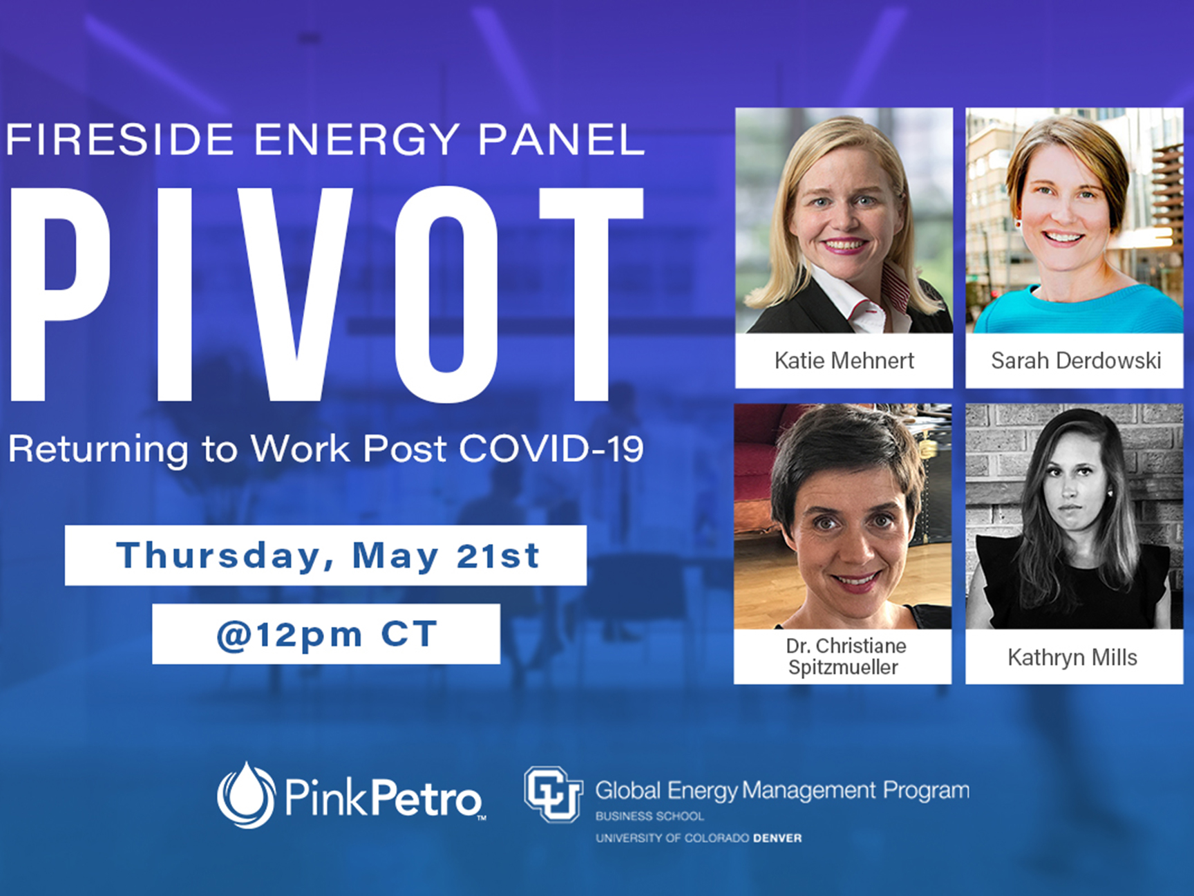 Fireside Energy Panel: The Future of Work in Energy Image