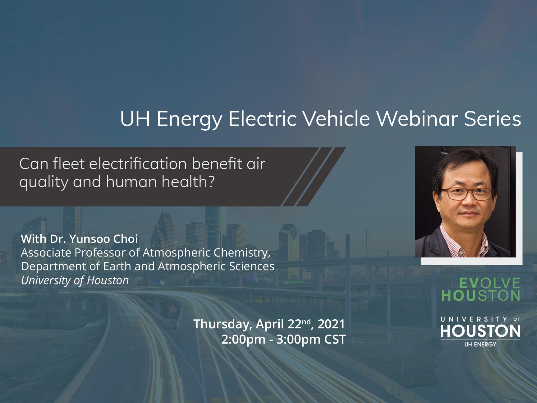 EV Webinar Series: Can fleet electrification benefit air quality and human health? Image