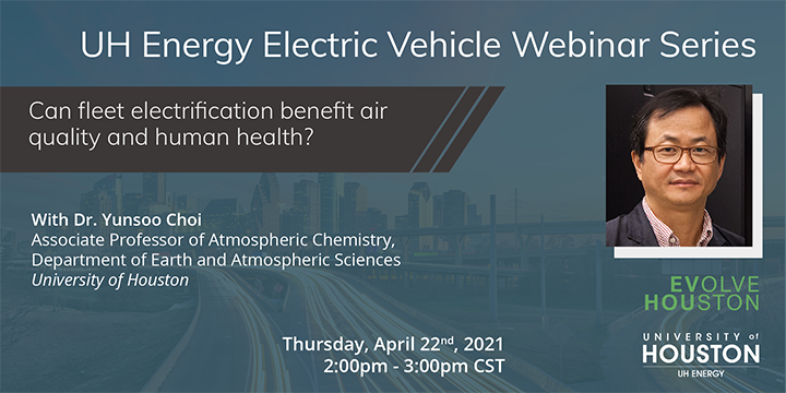 EV Webinar Series: Can Fleet Electrification Benefit Air Quality and Human Health? - Click here to visit this page.