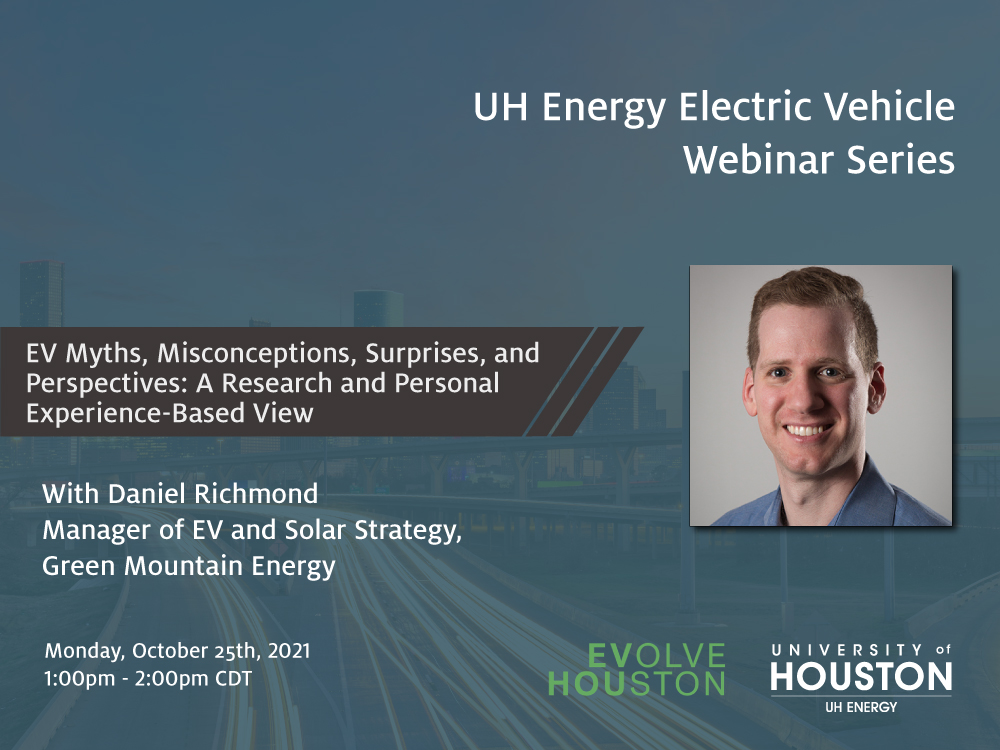EV Webinar Series: EV Myths, Misconceptions, Surprises, and Perspectives: A Research- and Personal Experience-Based View Image