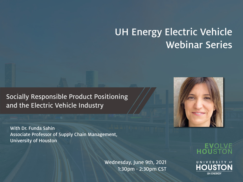 EV Webinar Series: Socially Responsible Product Positioning and the Electric Vehicle Industry Image