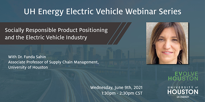 EV Webinar Series: Socially Responsible Product Positioning and the Electric Vehicle Industry - Click here to visit this page.