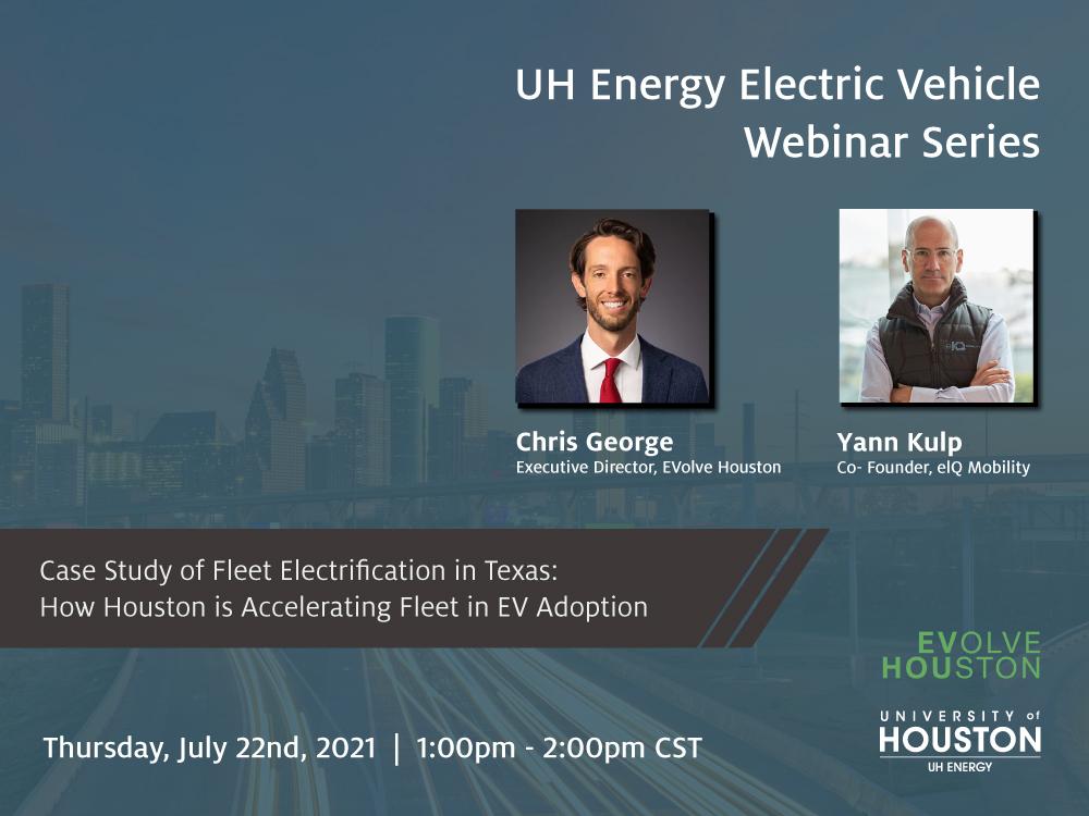 EV Webinar Series: Fleet Electrification in Texas: How Houston is Accelerating Fleet EV Adoption Image
