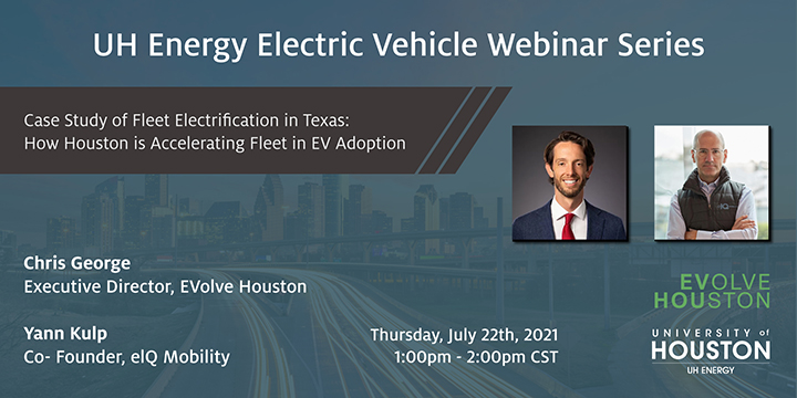 EV Webinar Series: Fleet Electrification in Texas: How Houston is Accelerating Fleet EV Adoption - Click here to visit this page.