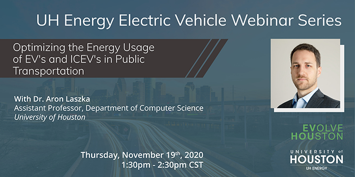 EV Webinar Series: Optimizing the Energy Usage of EV's and ICEV's in Public Transportation - Click here to visit this page.