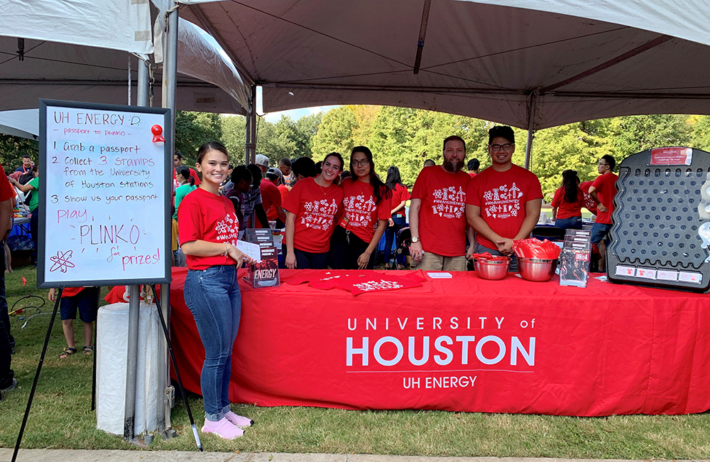 UH Energy Participates in Energy Day Festival in Downtown Houston