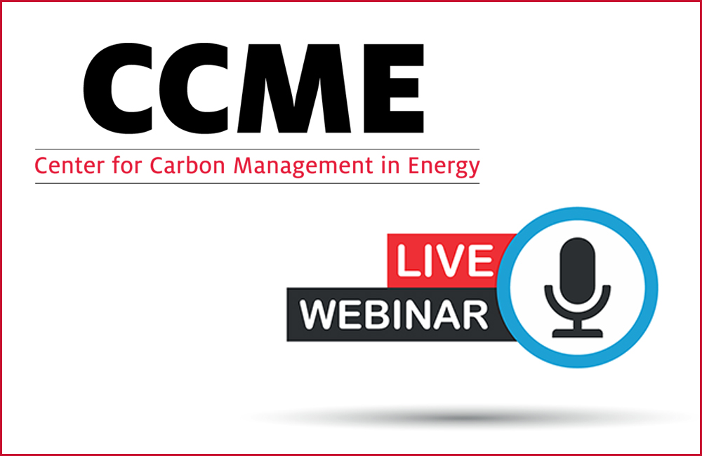 University of Houston's Center for Carbon Management in Energy Introduces Webinar Series