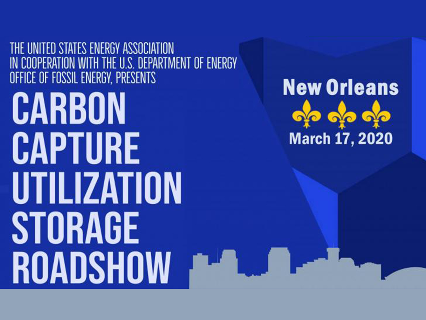 CCUS Roadshow in New Orleans, Louisiana Banner Image