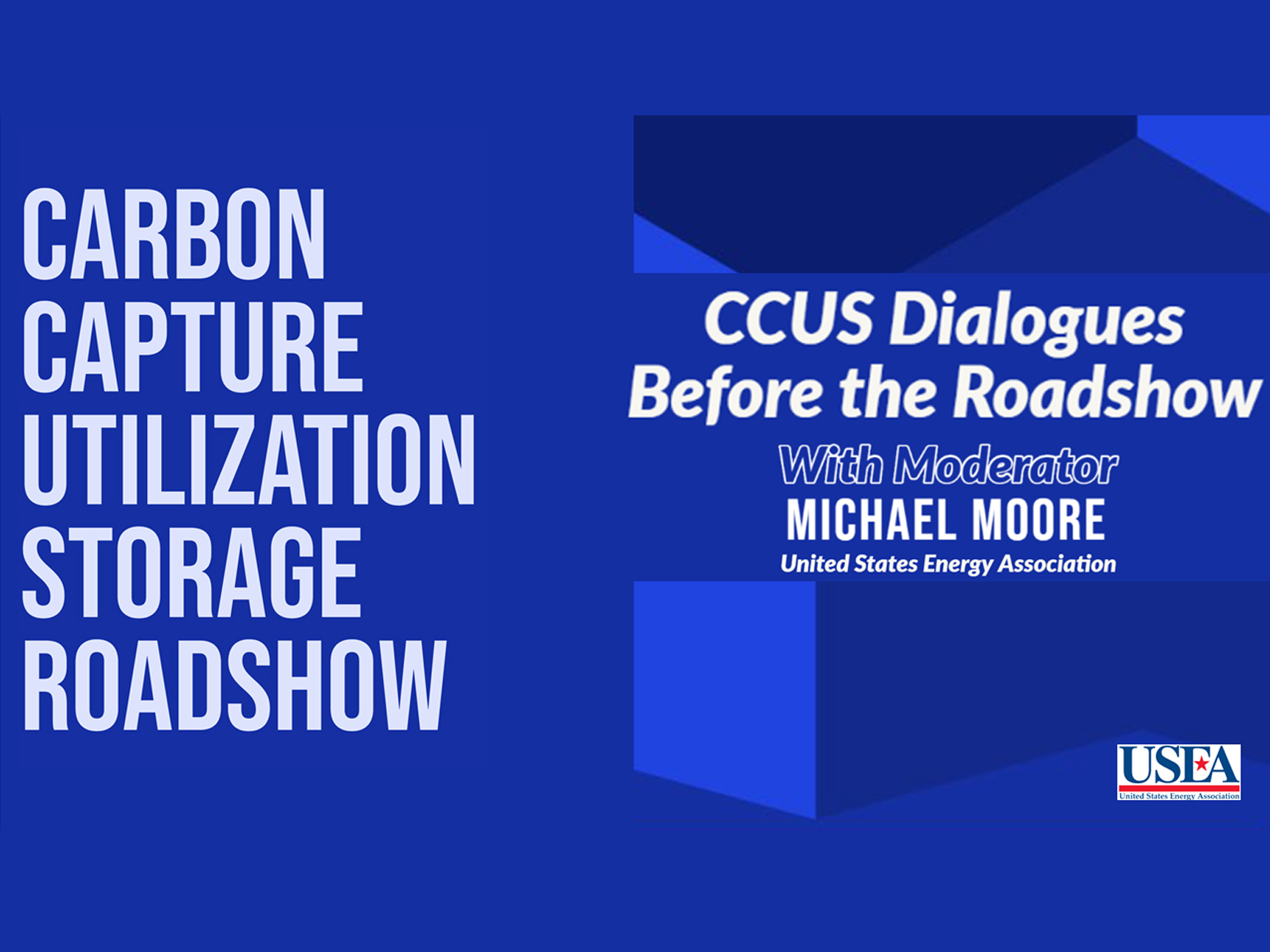 USEA CONSENSUS Webinar: CCUS Dialogues Before the Roadshow Image
