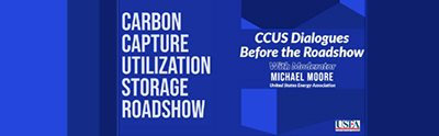 USEA CONSENSUS Webinar: CCUS Dialogues Before the Roadshow
