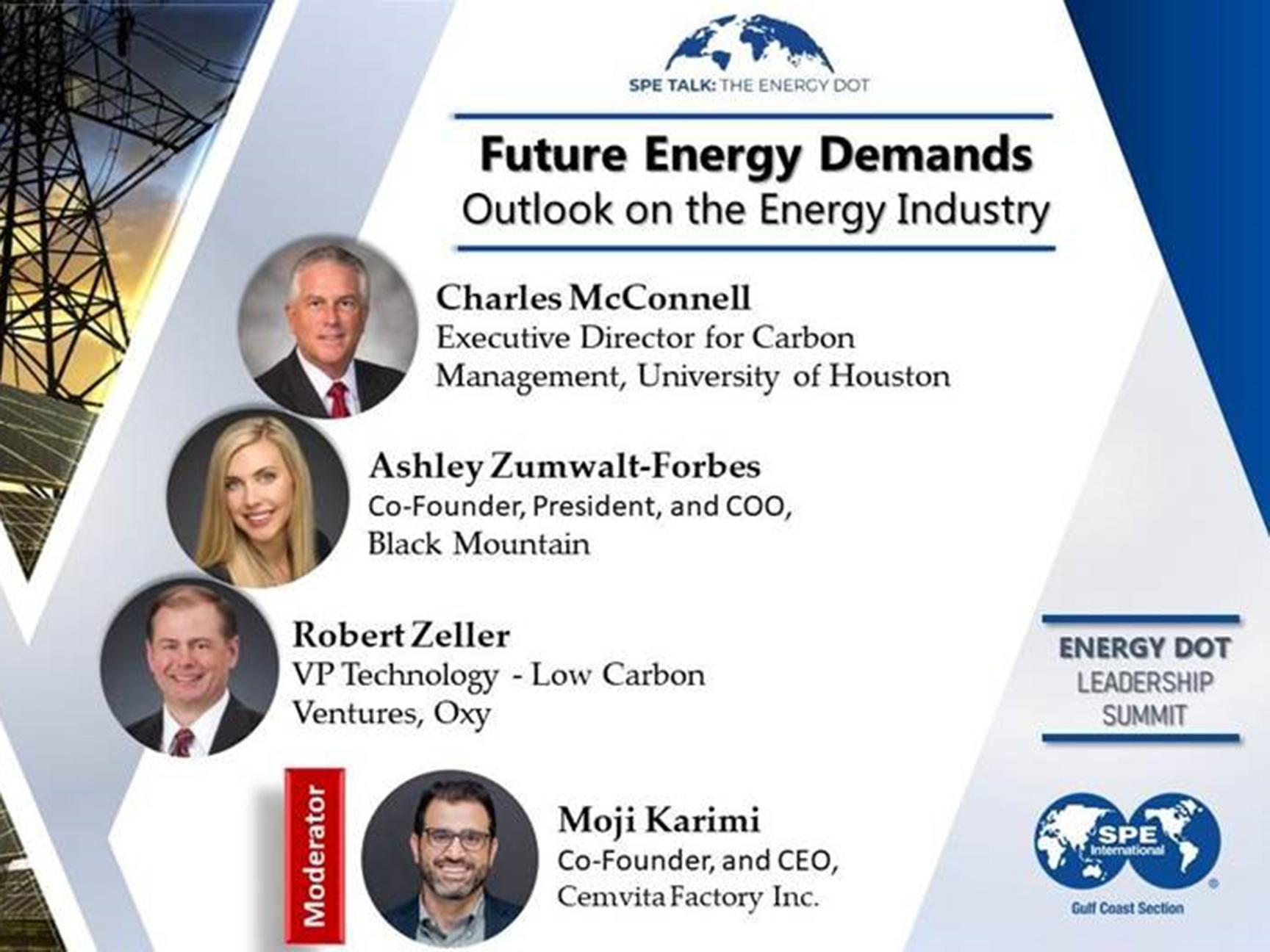 SPE EnergyDot Leadership Summit 2020 Panel Image