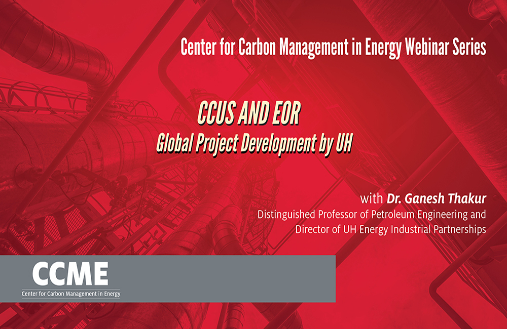 CCUS and EOR – Global Project Development by UH